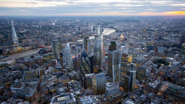 Londres ou le ciel de verre Movaway