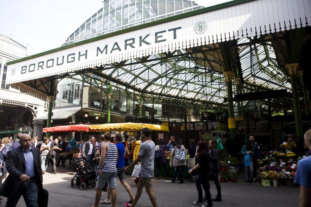 Le plus grand marché alimentaire de Londres