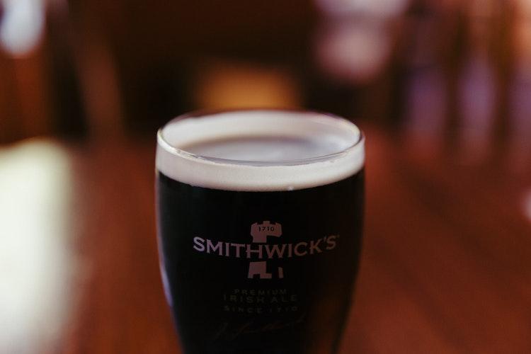 Les bières les moins cher sont à Londres