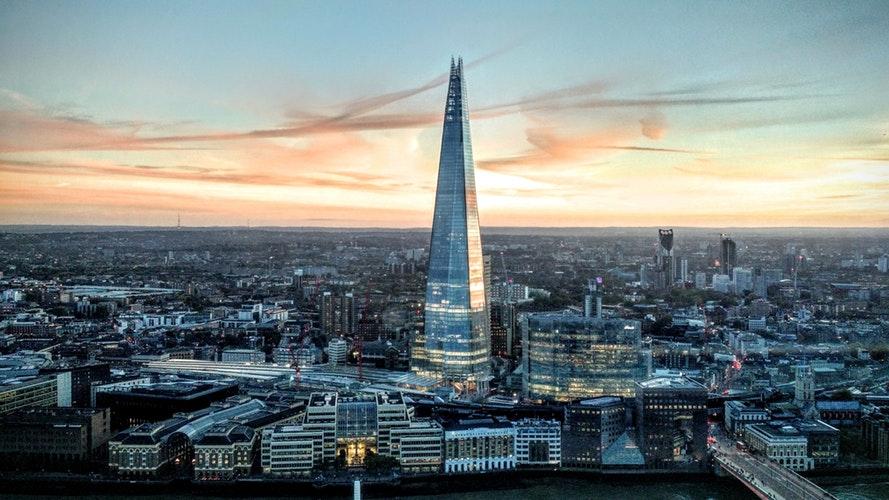 Magnifique vue de Londres