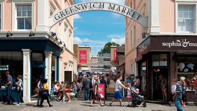Greenwich Market Londres, le rdv des antiquaires