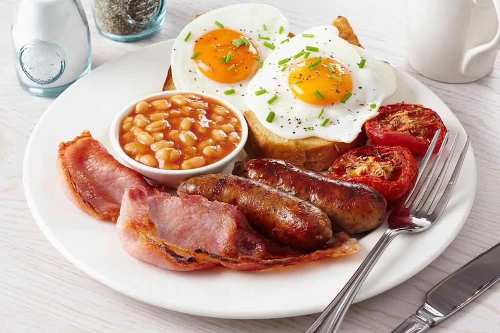 Les breakfast Londonien sont si atypique, qu'on ne peut y résister