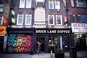 Brick Lane, ses coffee et ses marchés