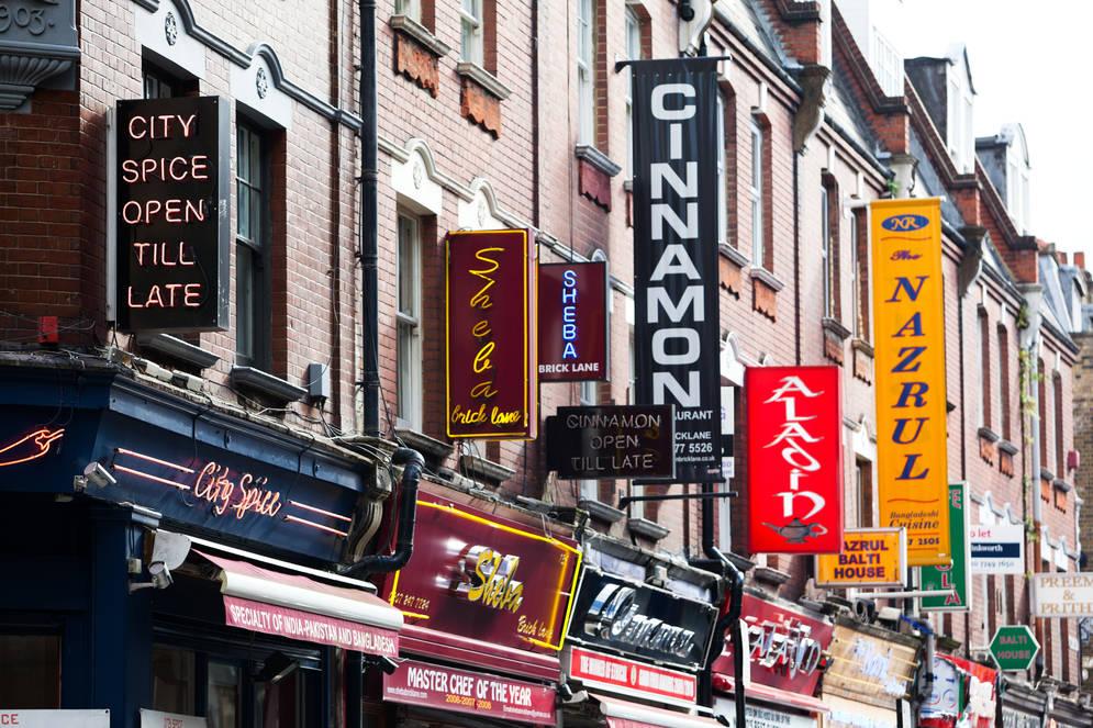 C'est ici que vous trouverez les meilleurs curry houses de Londres