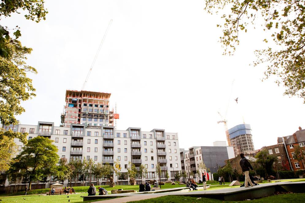 l'Est ne cesse de se développer. c'est désormais le quartier le plus branchée et trendy de Londres