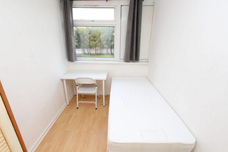 Chambre lit simple à Mile End en colocation