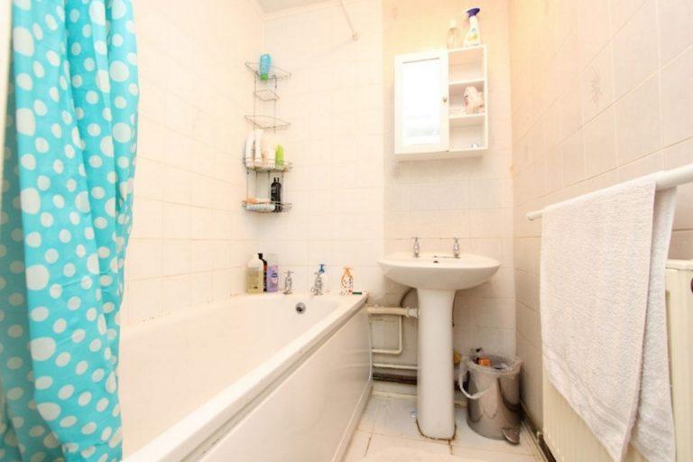 Salle de bain quartier Bow, logement colocation