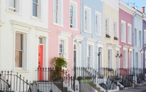 Notting Hill, Portobello Road quartier chic de Londres