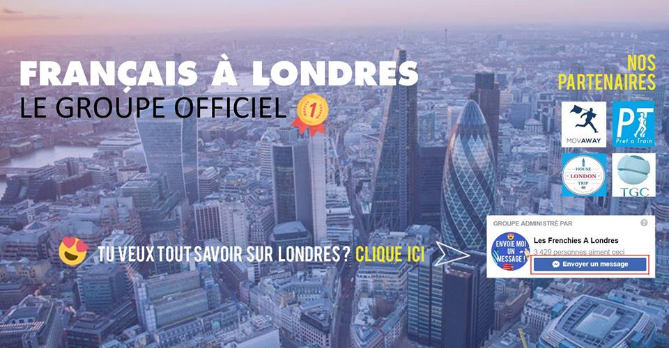 Groupe Facebook Les Français à Londres