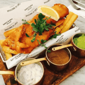 mayfair fish and chips