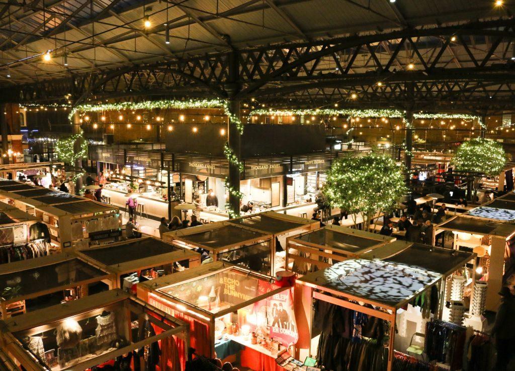 vivre à shoreditch pour l'Old Spitafield Market