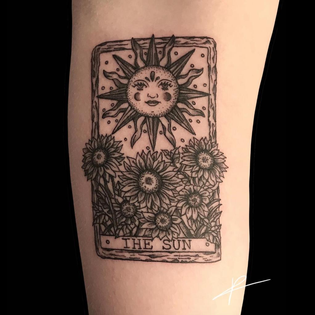 Estelle tatouage Londres