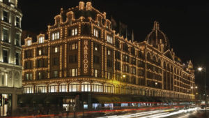 Harrods - Shopping - Londres - Nuit