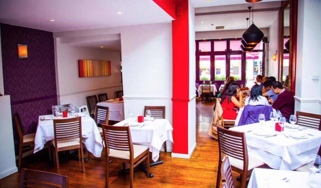 Restaurant - plats indiens - voyage