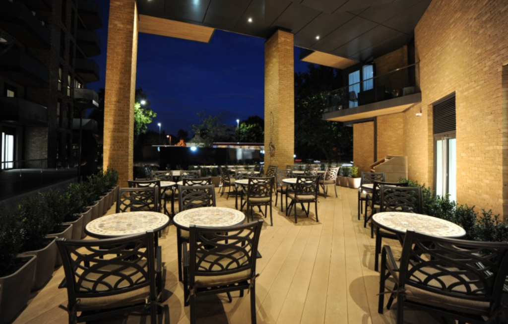 terrasse - restaurant -liban