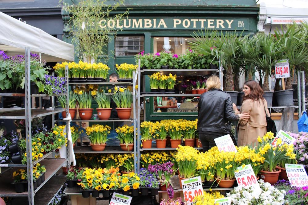 odeur - fleurs - marché