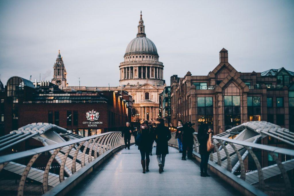 stage - Londres - expérience