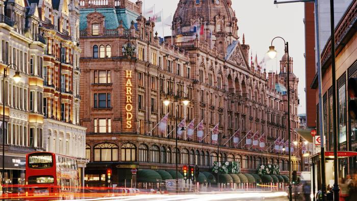 Harrods - Knightsbridge - Boutiques de luxes