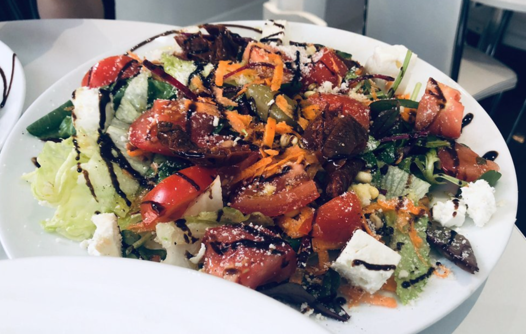 Salade - restaurant - bon