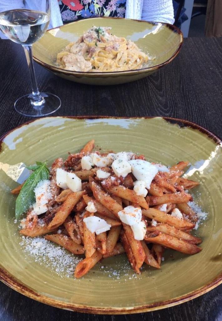 pâtes - italiens - restaurants