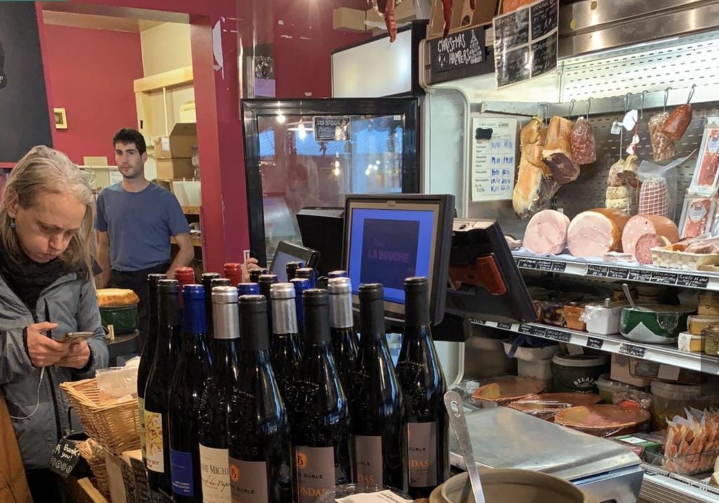vin - épiceries - françaises - londres