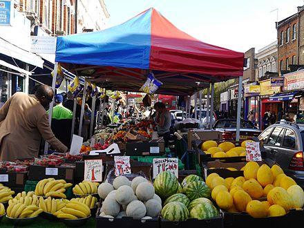 marché - londres - Fulham