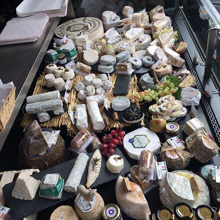 fromages - épiceries - france