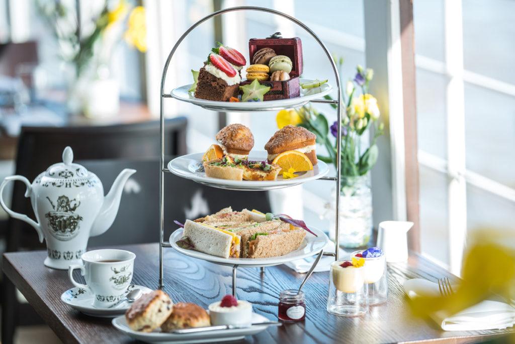 Image représentant d'une table représentant un Afternoon Tea à Londres
