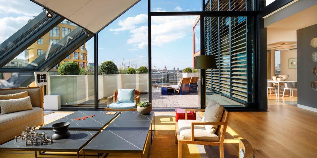 Image d'un logement à Londres dans le quartier de Shoreditch