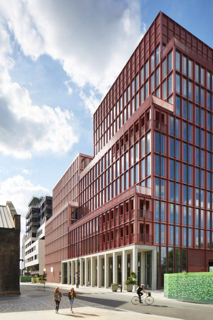 Logement à Londres : Image d'un bâtiment à King's Cross