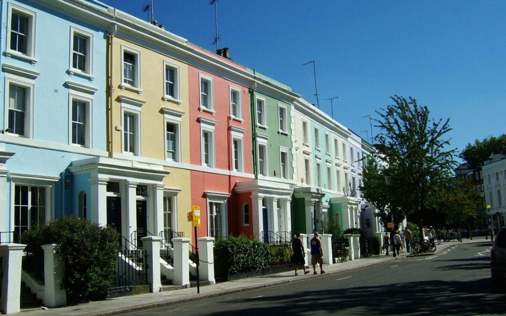 Appartement à Londres : Image du quartier de Notting Hill