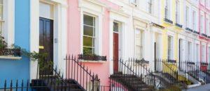 Vivre à Notting Hill : image représentant des maison