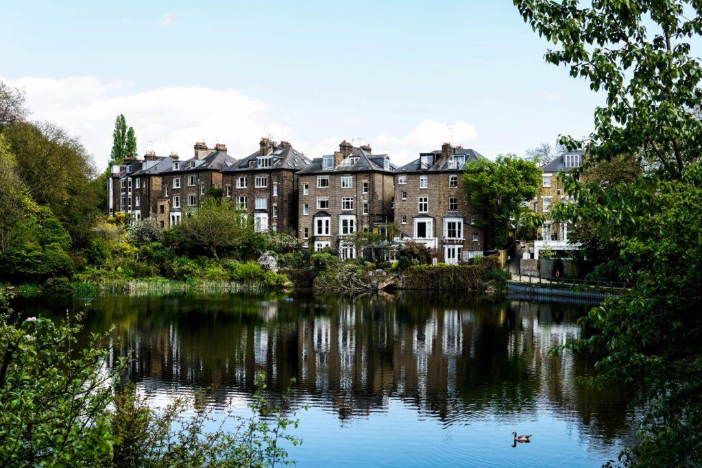 Activités gratuites à Londres : Image du Hampstead Heath Park