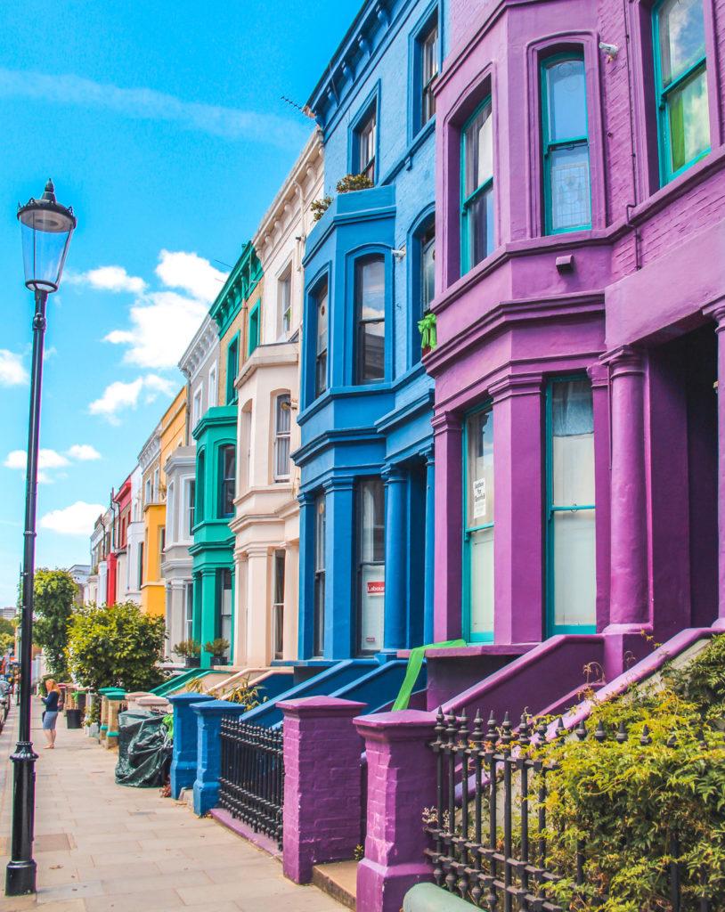 Image de logement à Londres dans le quartier de Notting Hill