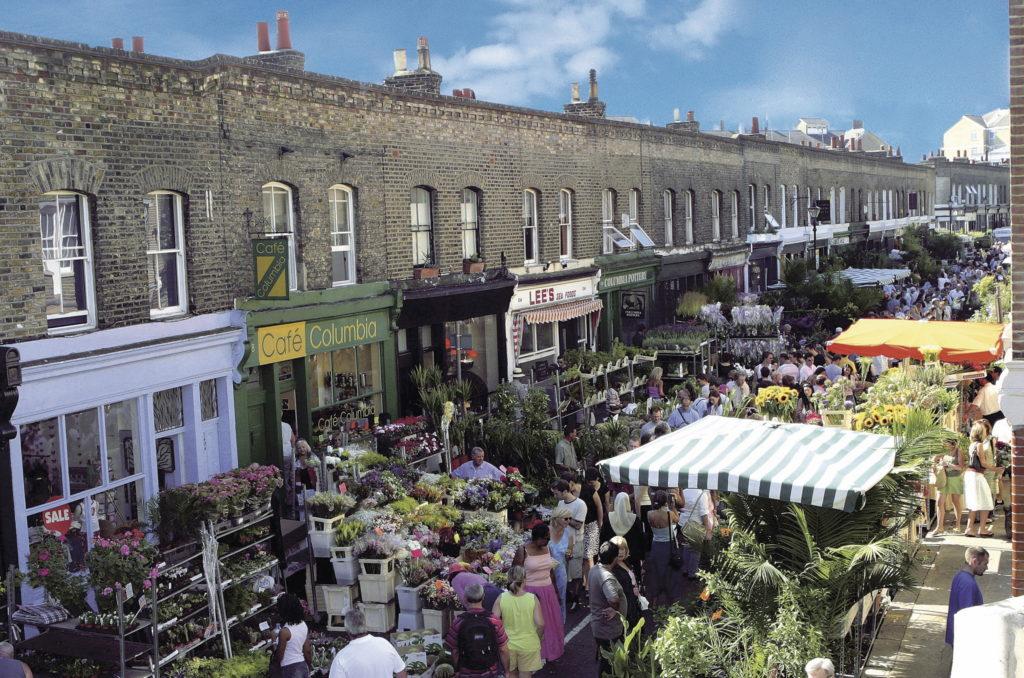 Vivre à Bethnal Green : Image du Columbia Road Flower Market
