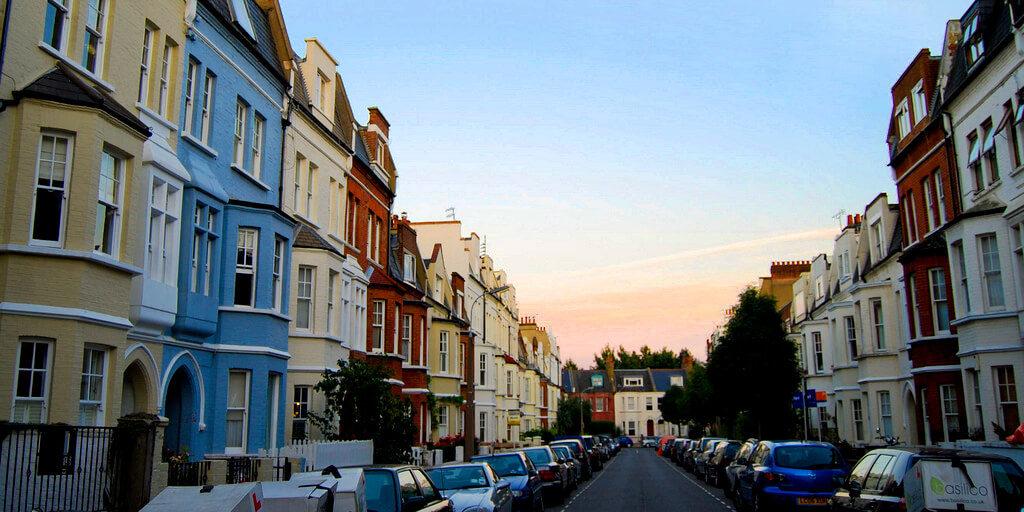 Logement à Londres :Image du quartier Fulham