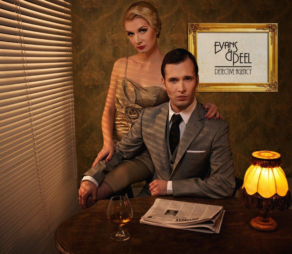 Endroits secrets à Londres : Image du Evans & Peel Detective Agency