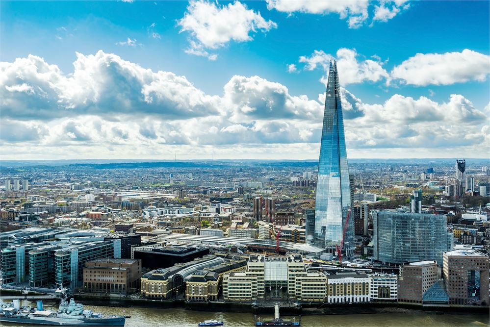 Vivre à Southwark : Image du Shard à Londres
