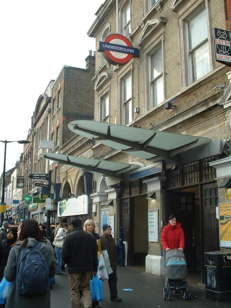Vivre à Whitechapel : Image des transports londonien