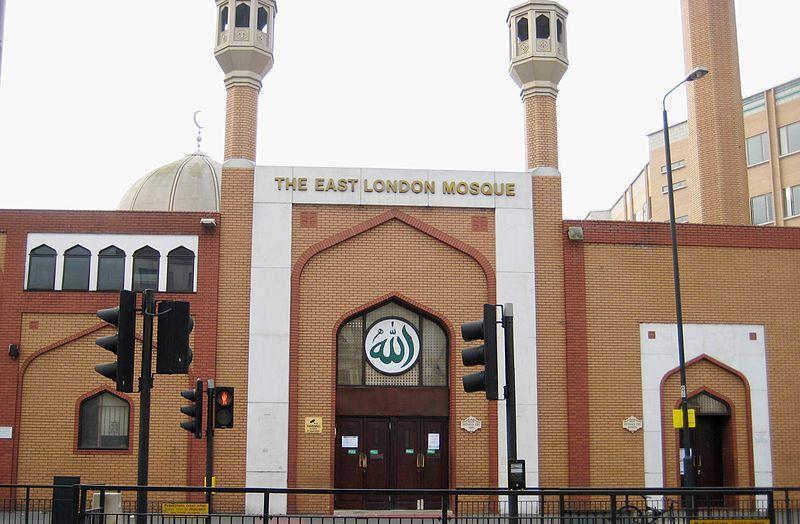 Vivre à Whitechapel : Image de la mosquée de londres