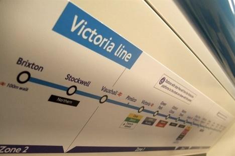 Vivre à Pimlico : Image représentant la ligne du métro
