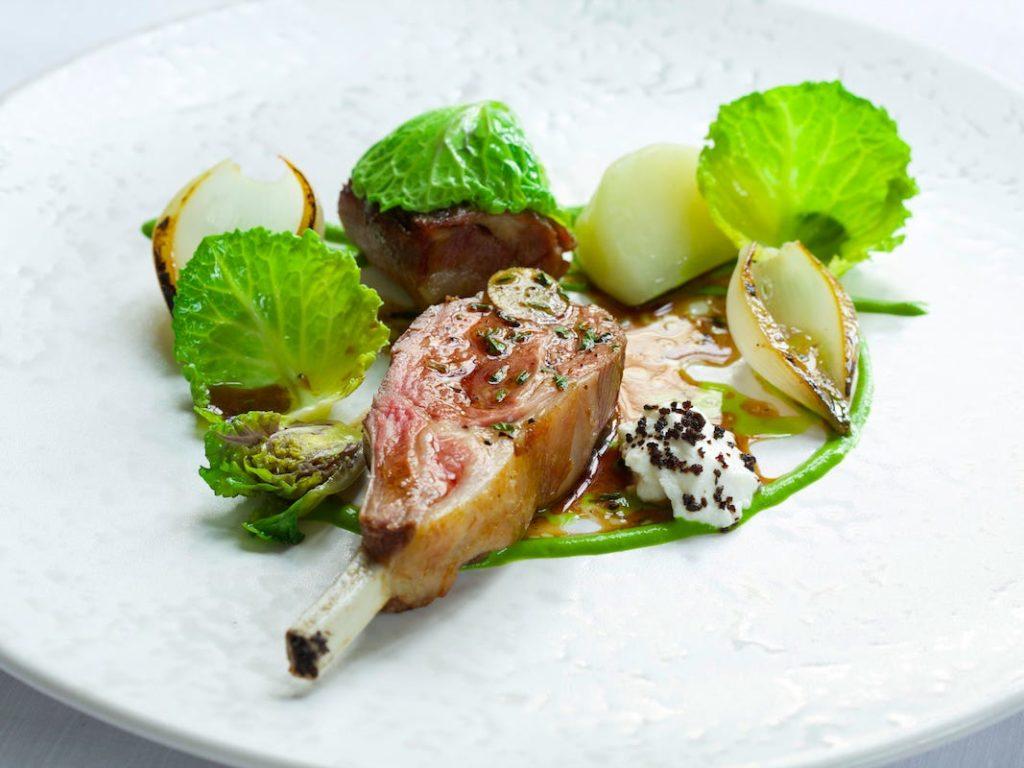 Image d'un plat du restaurant The Ledbury