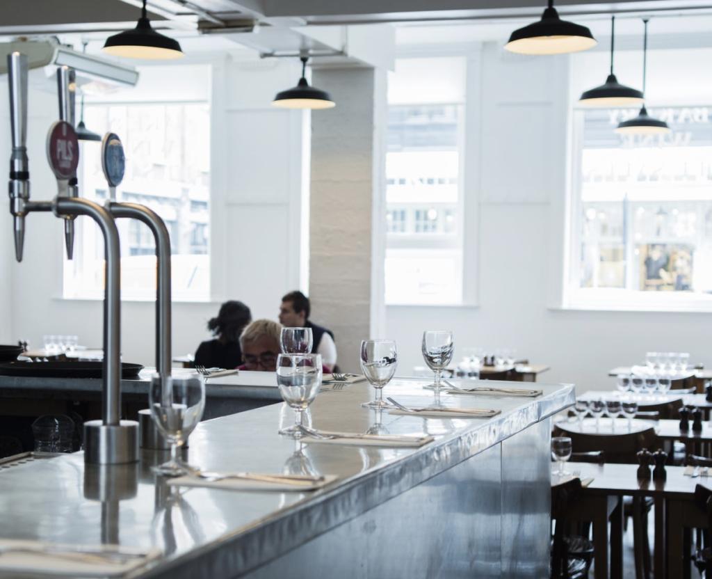 Restaurants étoilés à Londres : Image du st John