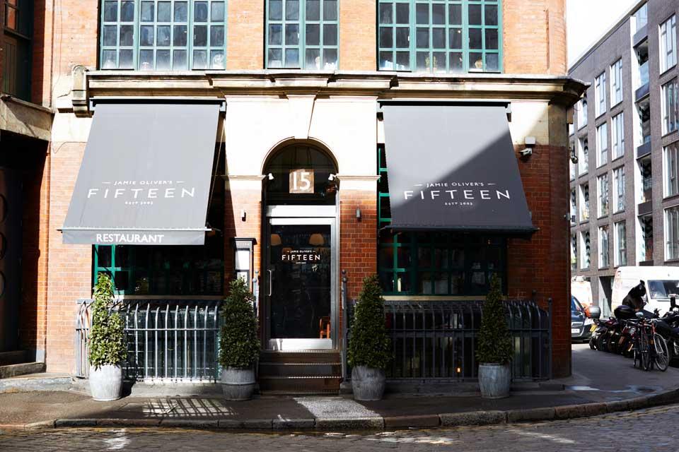 Restaurants étoilés à Londres : restaurant Fifteen