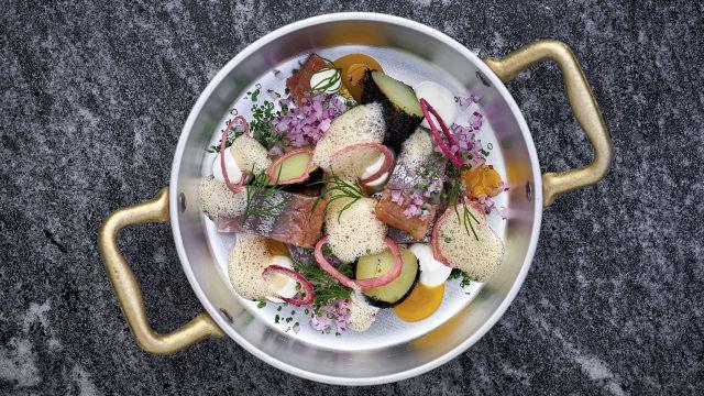 Restaurants étoilés à Londres : image de aquavit London