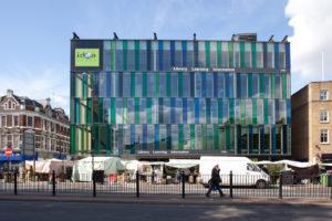 Vivre à Whitechapel image de supermarché