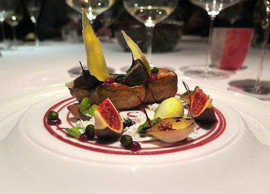 Restaurants étoilés à Londres : image d'un plat du Greenhouse