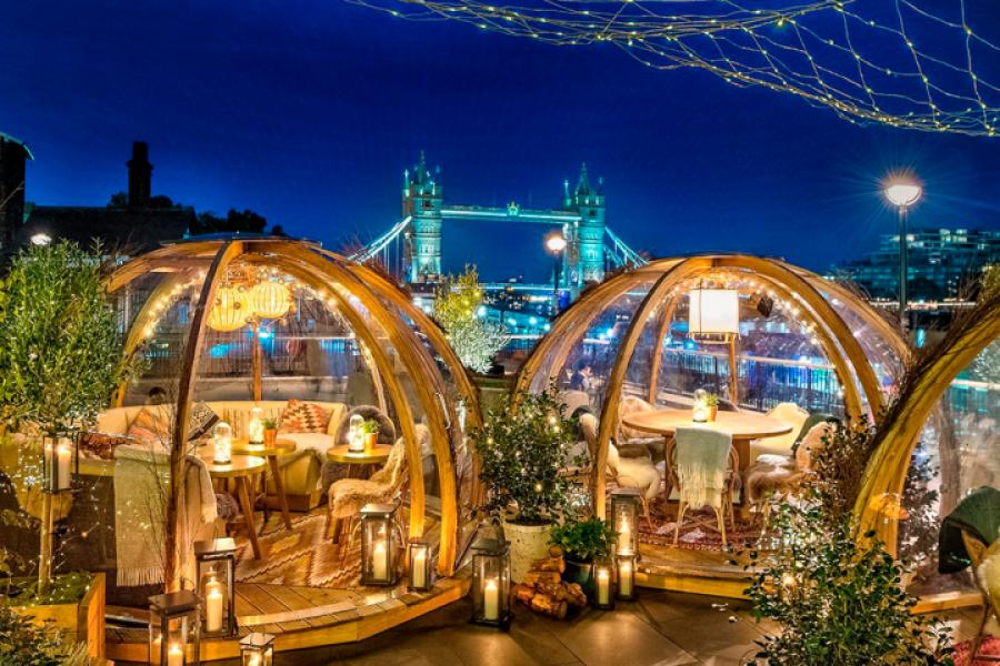 Image présentant les meilleurs restaurants insolites à Londres