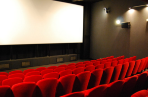 Image représentant une salle de cinéma.