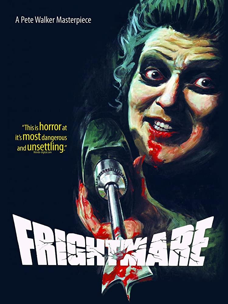 Affiche d'un film d'horreur mais aussi d'un des films anglais cultes.